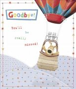 Boofle Goodbye Greeting Card